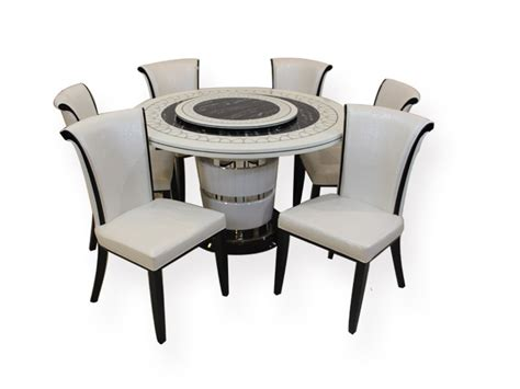 Buy Bliss Marble Top Six Seater Dining Set By Hometown Six Seater Dining Sets Dining Sr Hs 1819 Marble Top 6 Seater Dining Set Furniture Buy Furniture India