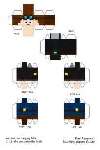 Minecraft Papercraft Witch - papercraft ep 3 thediamondminecart