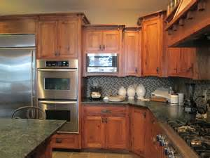 beautiful Rustic Hickory Kitchen Cabinets #1: countrystyle_hickory3.jpg