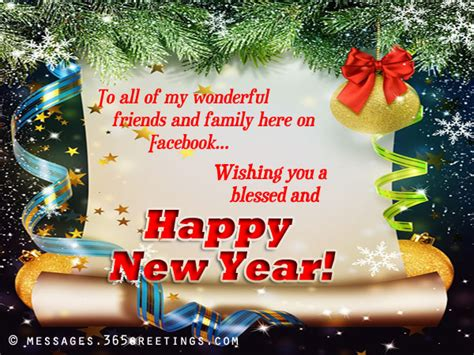 happy new year messages for facebook 365greetings com