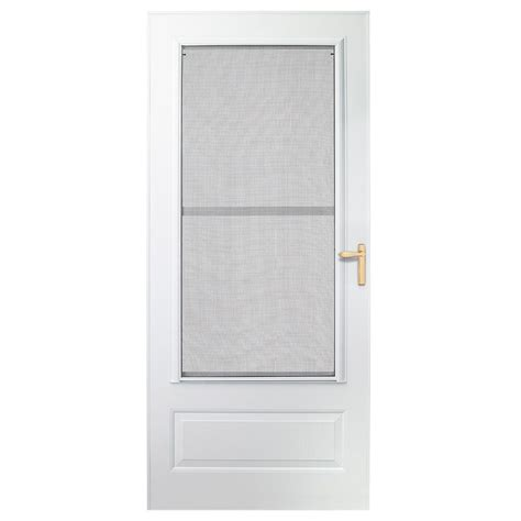 Emco Door by Emco 30 In X 78 In 300 Series White Universal