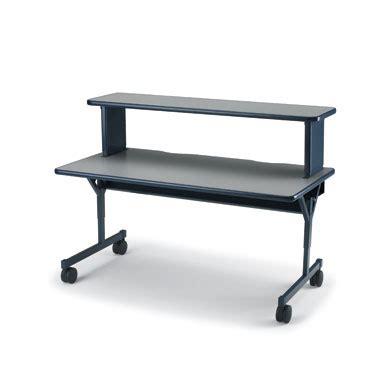 riser shelf flexline desk riser shelf smith system