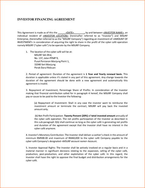 Sle Agreement Letter Between Two Companies Doc 7241024 Letter Of Agreement Between Two Memorandum Of Agreement Bizdoska