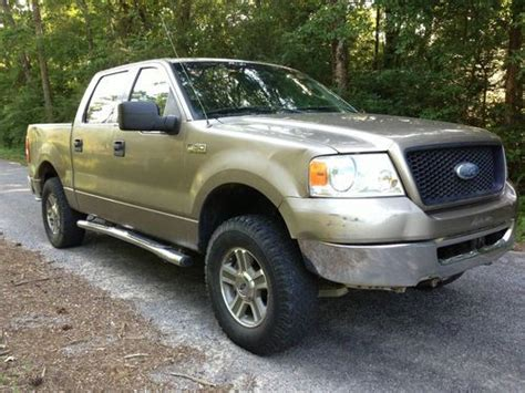 crew cab 2006 f150 purchase used 2006 ford f150 f 150 crew cab supercrew 4x4