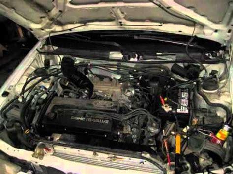tire pressure monitoring 1994 ford probe regenerative braking no spark ford escort youtube