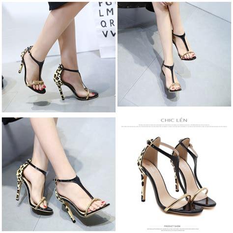 Sepatu Wanita Heel 12cm jual shha675 sepatu heels pesta wanita 12cm grosirimpor