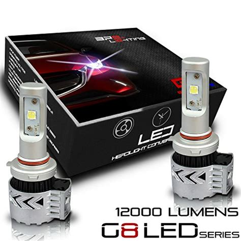 Daytona Led Headlight H11 American Cree Xhp50 bps lighting g8 led headlight bulbs w clear arc beam kit
