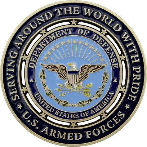 Proud Military Family Coin Usamm