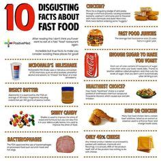 10 Facts About Organic Food by Unhealthy Food Facts On Fast Foods Tropical