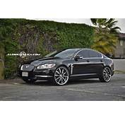 Jaguar Xf On 22 Inch Rims Car Pictures