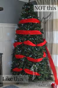 How To Decorate A Christmas Tree Professionally by Remodelaholic How To Decorate A Christmas Tree A