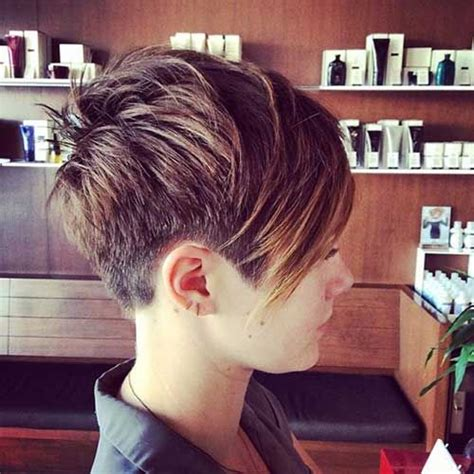 edgy haircuts chicago shaved pixie hairstyles haircuts pinterest long