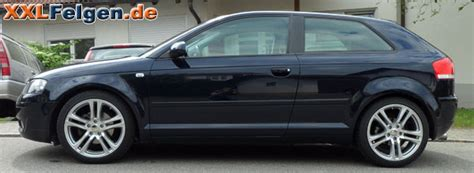 Silbernes Auto Polieren by Audi A3 Dbv Mauritius 18 Zoll Alufelgen