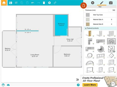 floor plan online tool draw a floor plan from a blueprint roomsketcher