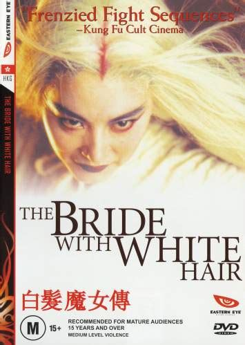 The bride with white hair ending a marriage