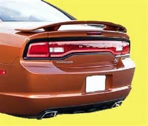 2012 Dodge Charger Spoiler 2011 2012 Dodge Charger Spoiler Wing Matte Black Mtb Ebay