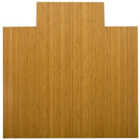 Bamboo Desk Mat by 55 X 57 Bamboo Chair Mat With Tongue In Chair Mats