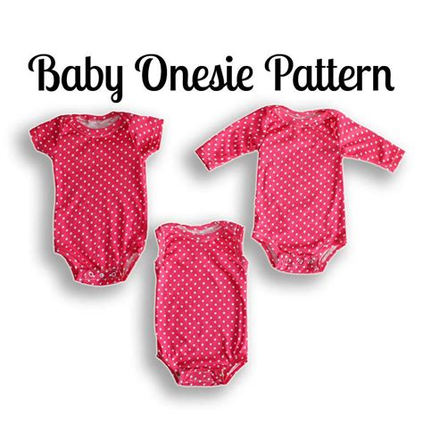 sewing pattern to download easy onesie sewing pattern pdf download sewing