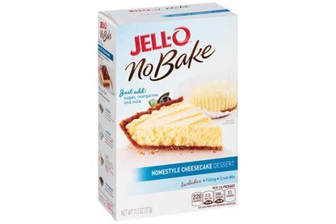 Jello No Bake Oreo Dessert 12 6 Oz jell o no bake home style cheesecake dessert mix 11 2 oz