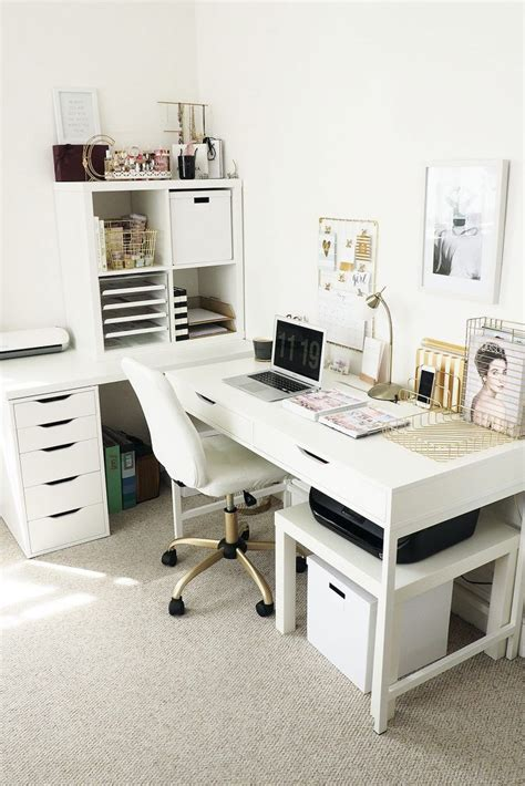 Ikea Office Desk Ideas Best 25 Ikea Home Office Ideas On Home Office Offices And Basement Home Office