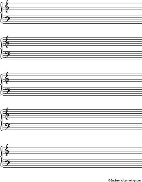 printable music staff paper large