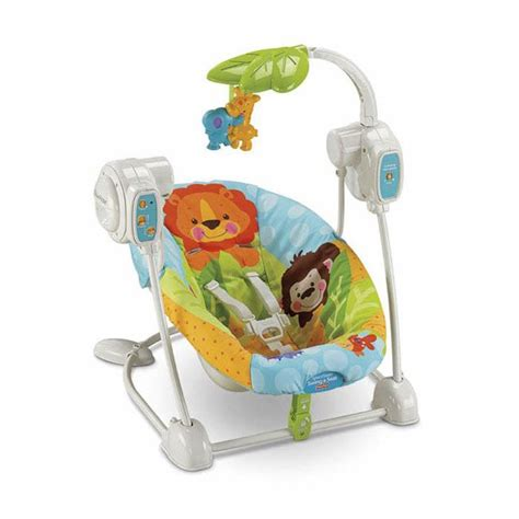Fisher Price Precious Planet Cradle Swing by Fisher Price Precious Planet Spacesaver Swing And Seat