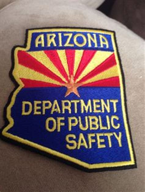 Arizona Department Of Records State Insignias On State Badges And California Highway Patrol
