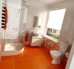 Orange Bathroom Decorating Ideas Dare To Have An Orange Bathroom