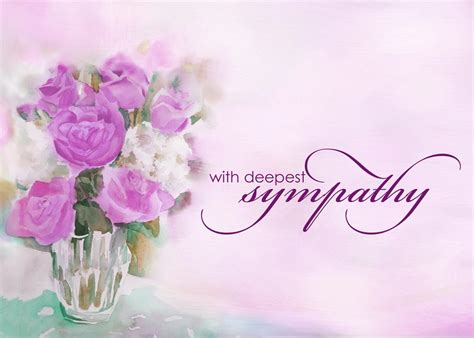 sympathy flower card template sympathy card messages sympathy card messages