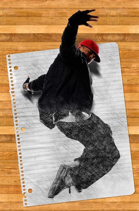 popup sketch photoshop action  indworks graphicriver