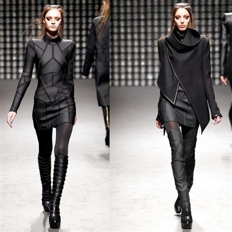 futuristic style apocalyptic fashion i want that whole look