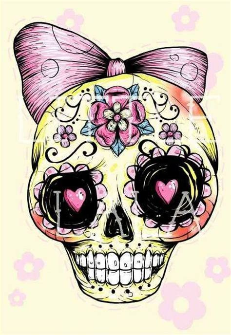 girly sugar skull tattoos the world s catalog of ideas