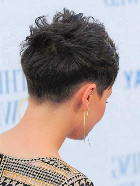 pic of back of spikey hair cuts short spiky hairstyle for women front and back view