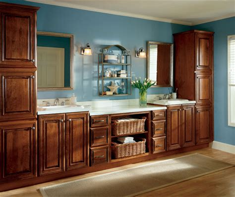 office cabinets in cherry finish cabinetry