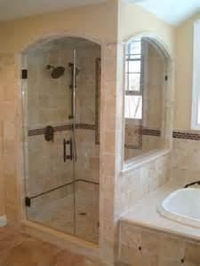 arched shower door arched enclosure traditional bathroom new york by