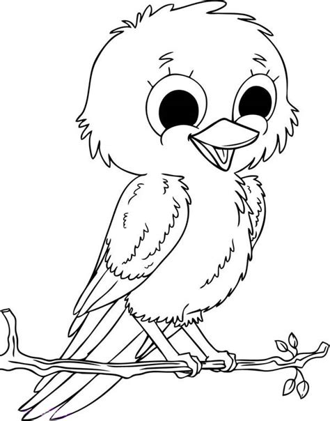 coloring pages baby birds baby bird coloring pages getcoloringpages com