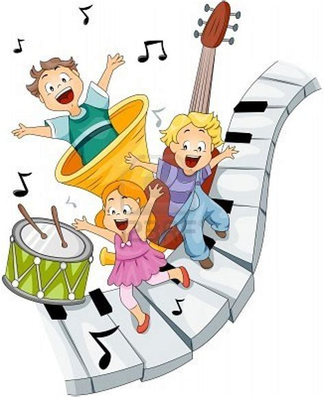 imagenes de niños tocando instrumentos musicales la musica en la primera infancia