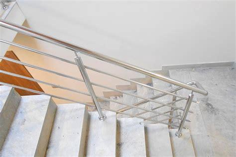 barandillas metalicas para escaleras barandillas de acero inoxidable para escaleras interiores