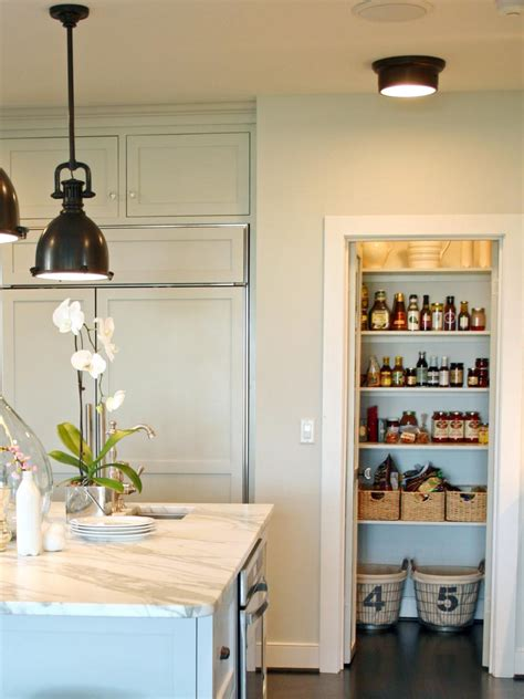 kitchen pantry ideas for small spaces transform small spaces with hgtv hgtv
