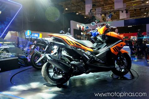 Yamaha Philippines launches the Aerox 155   Motorcycle News