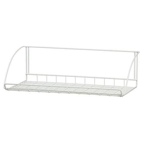 Closetmaid 20 Wire Shelf Closetmaid 24 Quot Wall Mounted Wire Utility Shelf White