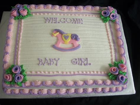 Rocking Baby Shower Cake by Rocking Baby Shower Cake Cakecentral