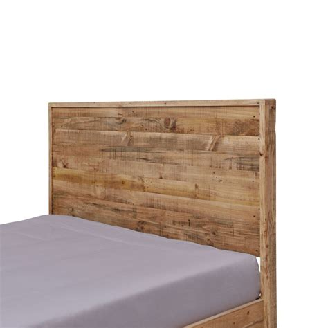 rustic bed frames portland rustic recycled timber bed frame buy