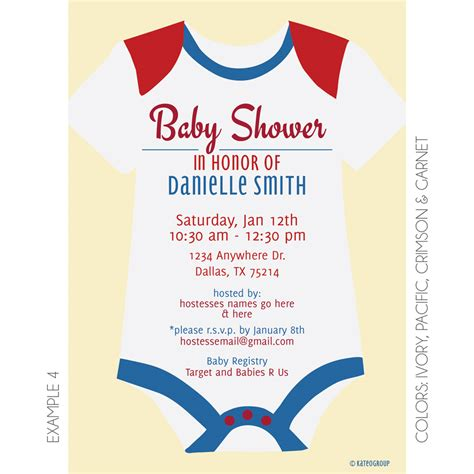 onesie template for baby shower invitation onesie baby shower invitation wblqual com