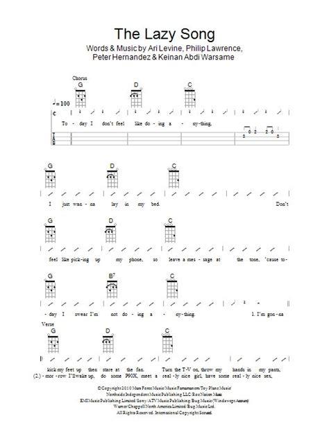 song ukulele chords the lazy song ukulele songs and the o jays