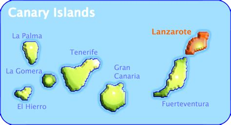 canary islands map canary islands topnews