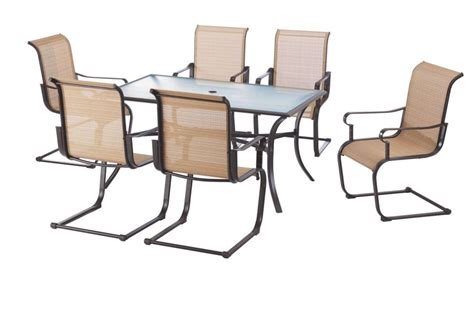 hton bay belleville 7 patio dining set hton bay patio dining set home depot icamblog hton bay