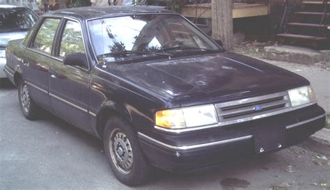 1991 ford tempo information and photos zombiedrive