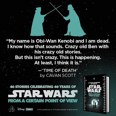 obin ask fm novo livro de star wars conta as aventuras p 243 s morte de