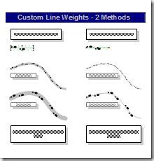 line pattern in visio john goldsmith s vislog creating random custom line